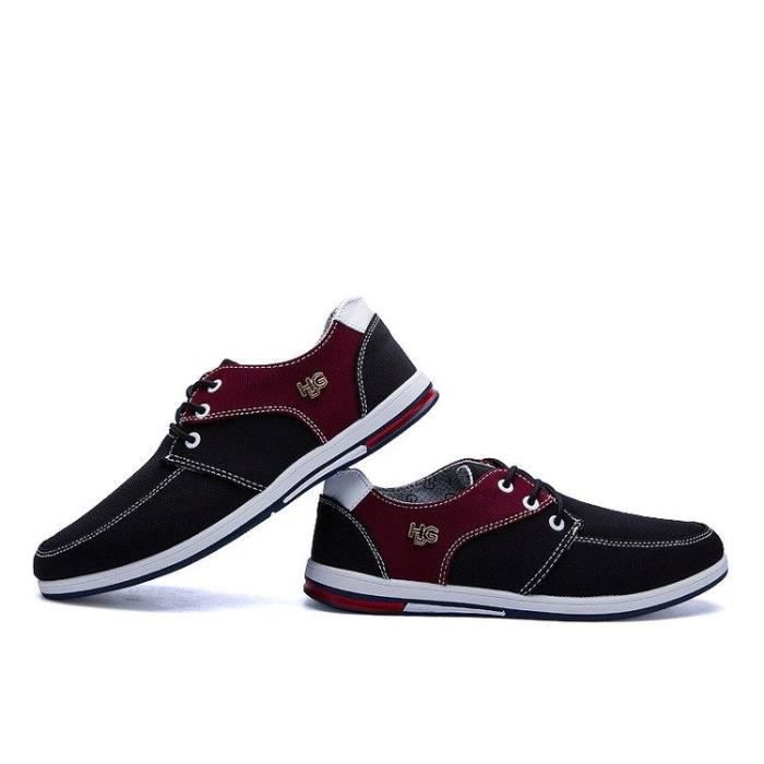 Noir On Mode Chaussure Homme 43 2007 Classique Slip Masculines R77300482 Doux Compensé De Ville Casual 0ZP0qpF