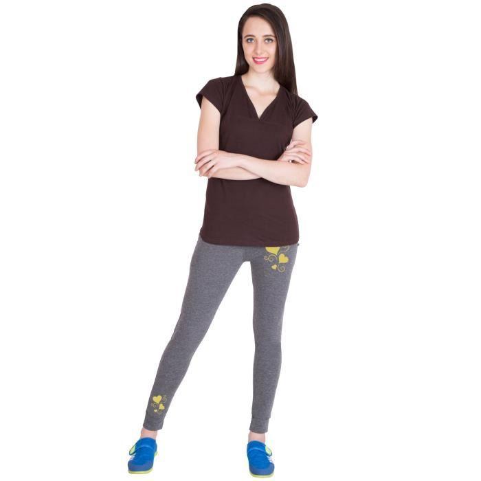 Foncé Taille 40 Slim Survêtement De Femmes Pantalon Fit Coton Gris Gmdkh 5qv6wO