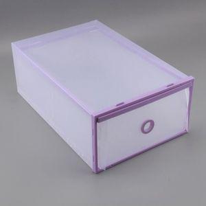 MEUBLE À CHAUSSURES 5pcs Etagere Boîtes à chaussures de rangement orga