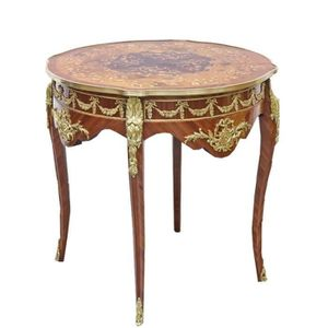 TABLE D'APPOINT Casa Padrino Table d'Appoint Baroque Acajou Marque