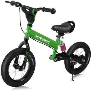 DRAISIENNE Vélo draisienne pour Enfants Vert foncé Rennmeiste
