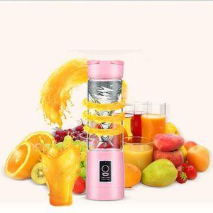 PRESSE-AGRUME Rose 380ml Portable USB Électrique Fruits Presse-a