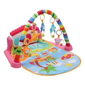 73c2b2563c23f5 TAPIS ÉVEIL - AIRE BÉBÉ Tapis d éveil bébé éducatif musical + jouets - 85