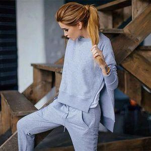 Jogging gris femme - Achat   Vente Jogging gris Femme pas cher ... c4f6c2af526