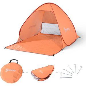 PARASOL - ABRI DE PLAGE Tente de plage pliable pop-up automatique instanta