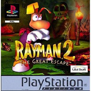 JEU PS1 Rayman 2 - platinium