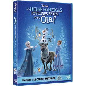 DVD DESSIN ANIMÉ La reine des neiges Joyeuses fêtes avec Olaf DVD