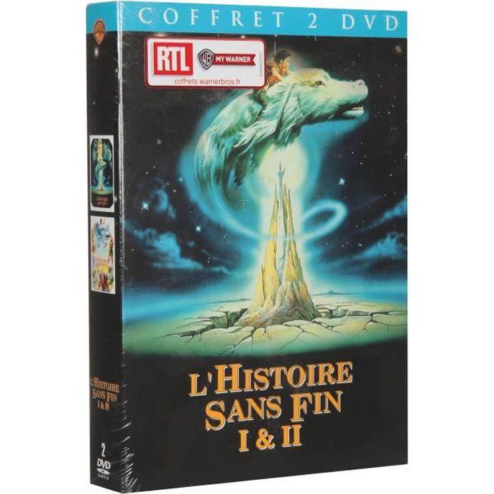 DVD DESSIN ANIMÉ Coffret L'histoire sans fin - Saison 1 et 2 - En D