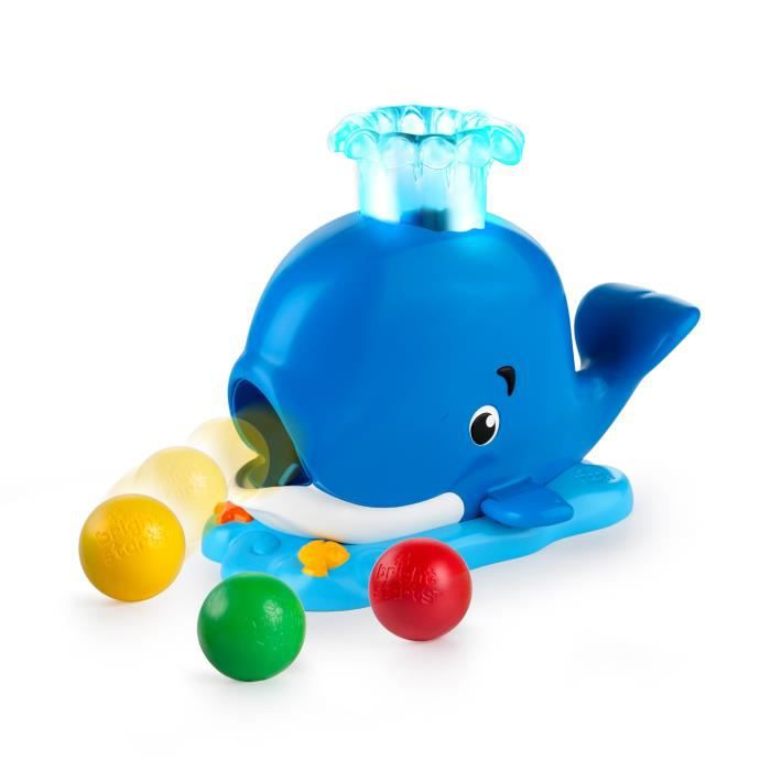 BRIGHT STARTS Baleine Silly Spout Whale Popper