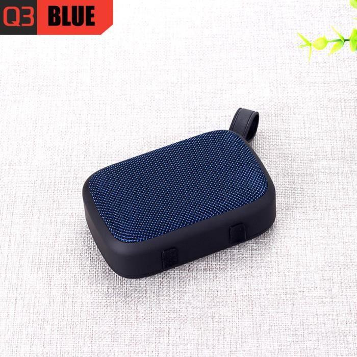 Portable Sans Fil Bluetooth Haut-parleur Stéréo Sd Fm Pour Ordinateur Smartphone Tablet Scy80804101bu_911