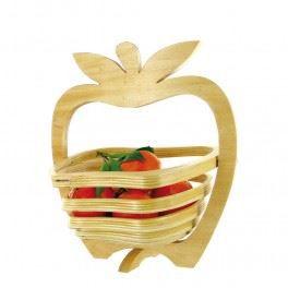 CORBEILLE - PANIÈRE Dessous de Table en Forme de Pomme - en Bois
