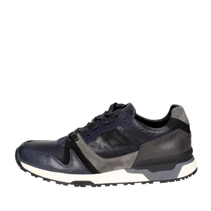 Crime LondonSneakers Homme Bleu/Gris, 44