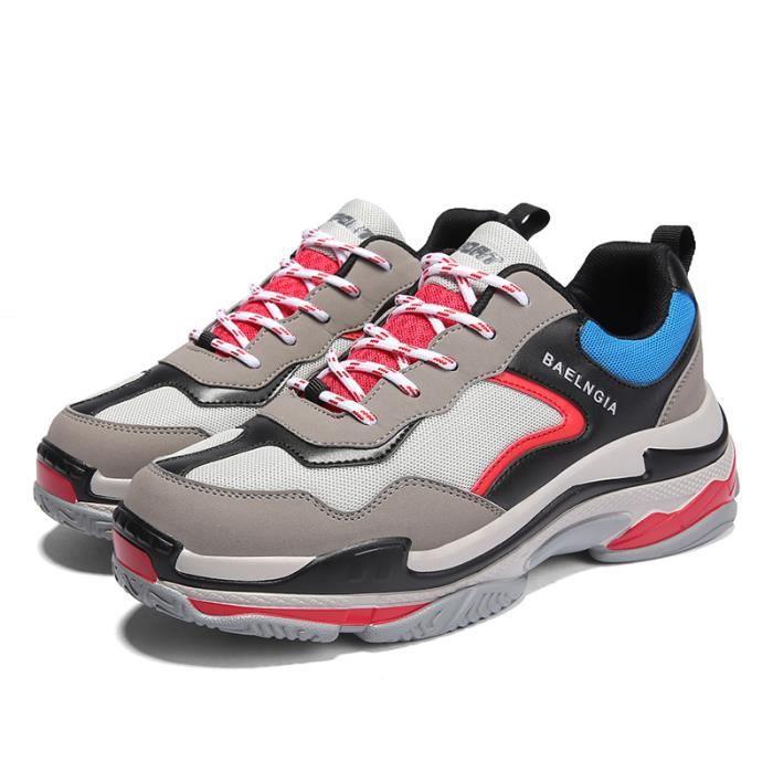 loisir Chaussure de Femme d'air Running Sport Homme Chaussures Basket nS8qwYY6