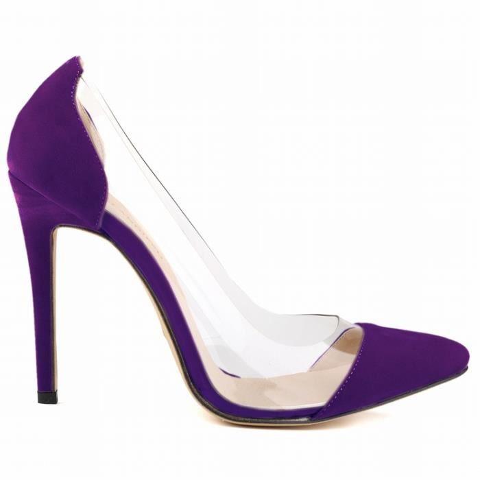 Joker des multicolores avec pointures de coréenne Automne femmes pointues et chaussures de version Printemps grandes simples 7xpCq4wvX