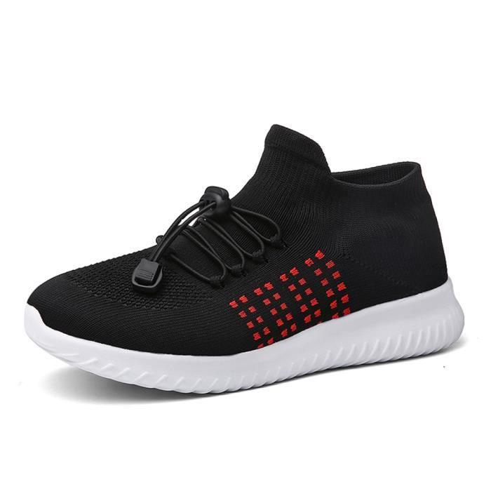 Sneakers Qualit Meilleure Noir gris Basket Moccasins Femme Slipon Lger Antidrapant bleu Extravagant rose Chaussures Durable qXxxRAzw