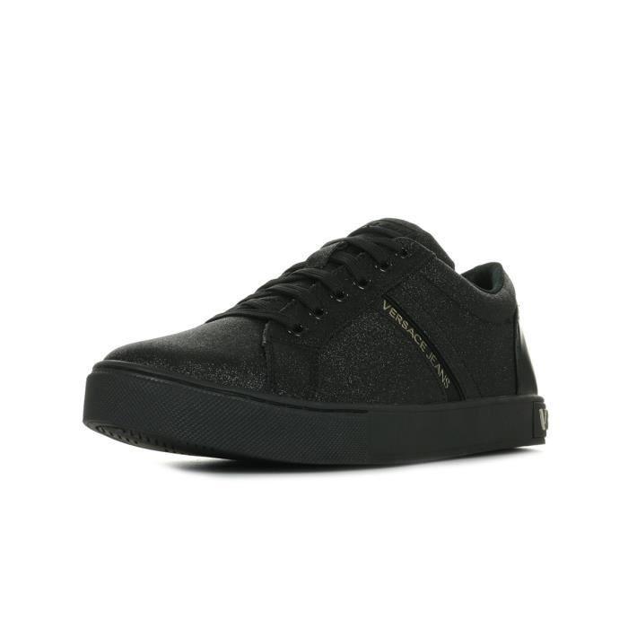 Baskets Versace Linea Fondo New Kim Dis. 2 Noir Noir, doré - Achat ... 4dd8d0b90ea