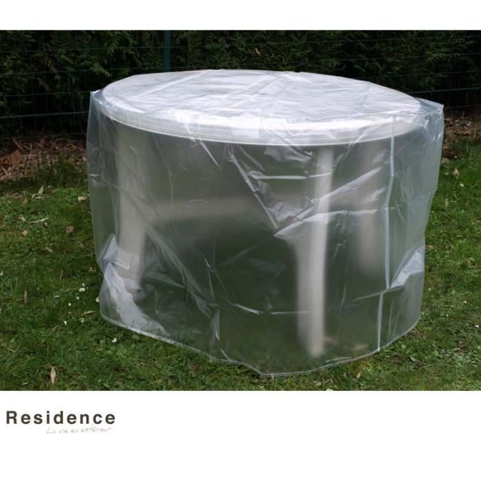 Housse protection table jardin ronde - Achat / Vente Housse ...