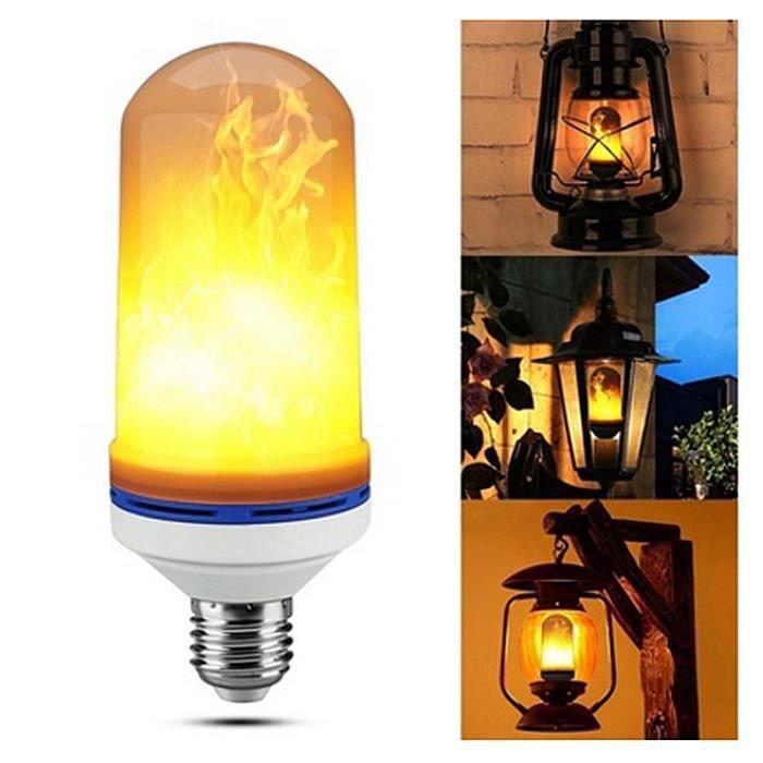 Lumieres Lumiere Flamme Lampes Clignotante Decorative Lampe Clignotant Ampoule Avec E27 Decorations Led La 5w FKT5u3l1Jc