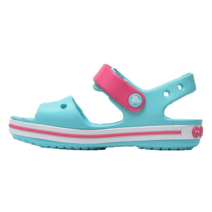 Crocs Sandales Fille Turquoise (28-29 - turquoise)