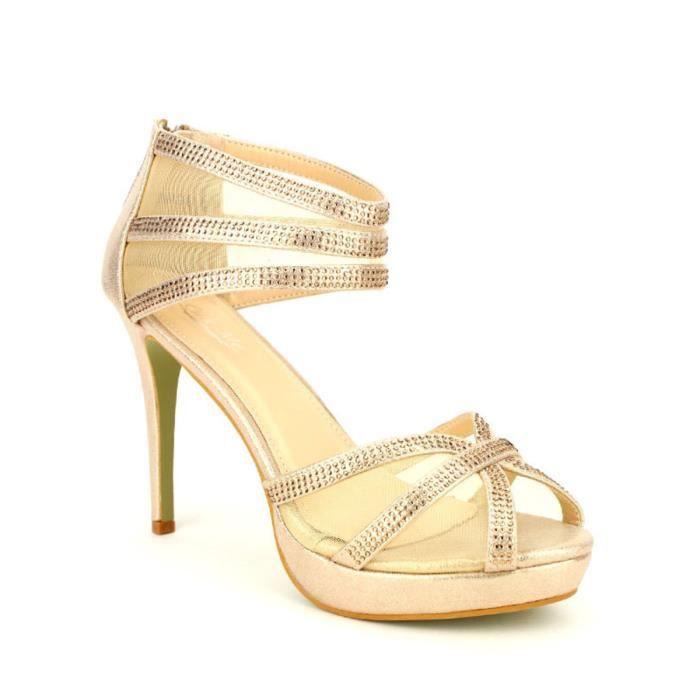 escarpin, Escarpins DorÚ Chaussures Femme, Cendriyon