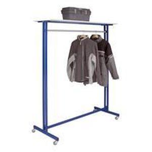 PENDERIE MOBILE Vestiaire portant bleu Mobile et peu encombrant…