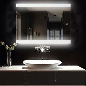 Miroir salle de bain 80 cm - Achat / Vente pas cher