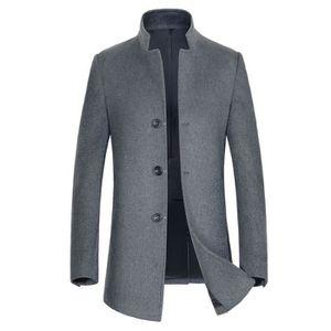 manteau homme long achat vente manteau homme long pas cher soldes d s le 10 janvier cdiscount. Black Bedroom Furniture Sets. Home Design Ideas