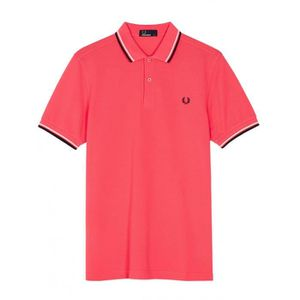 POLO POLO FRED PERRY TWIN TIPPED CORAIL M3600-489