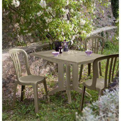 Salon de jardin résine 4 couverts grosfillex ve… - Achat ...