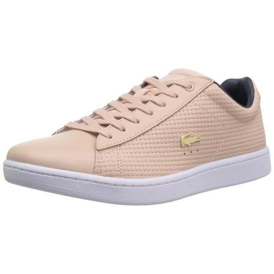 Lacoste Femmes Carnaby Evo 118 5 Spw Sneaker RF124 Taille-39 1-2 Noir Noir - Achat / Vente basket