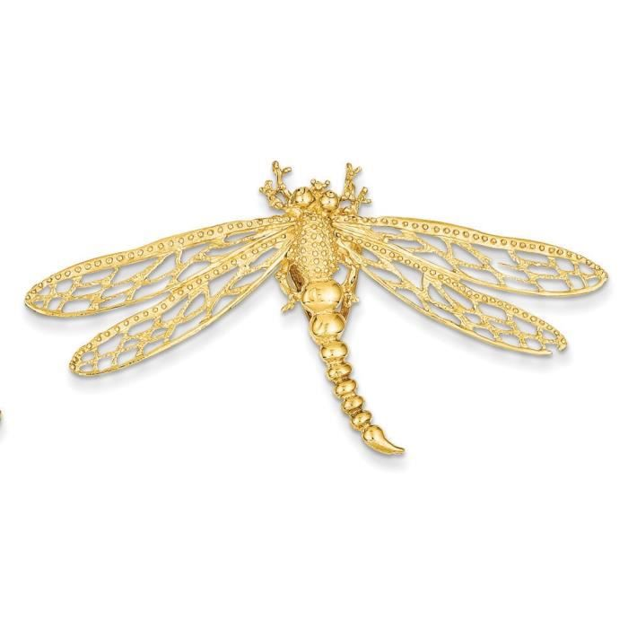14 carats découpe Slide-libellule