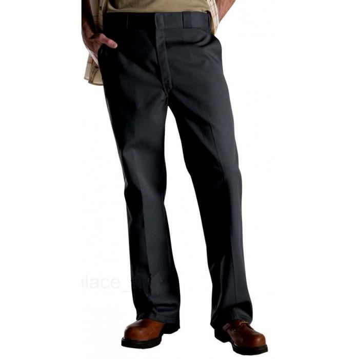 pantalon dickies gris homme style classic taille 44 francais style  rockabilly b14d8f591a5
