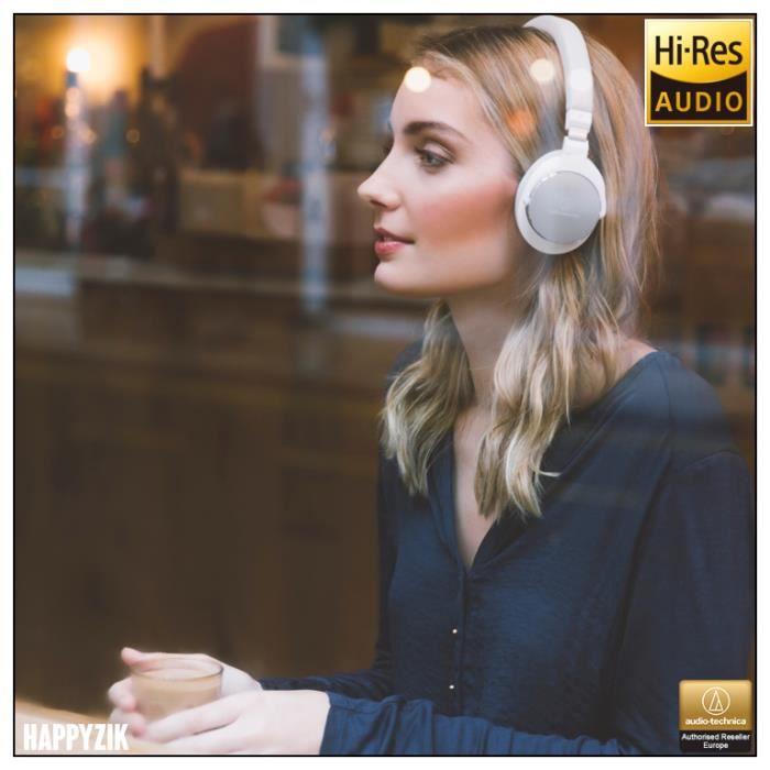 Casque Audio-technica Ath-sr5wh Blanc