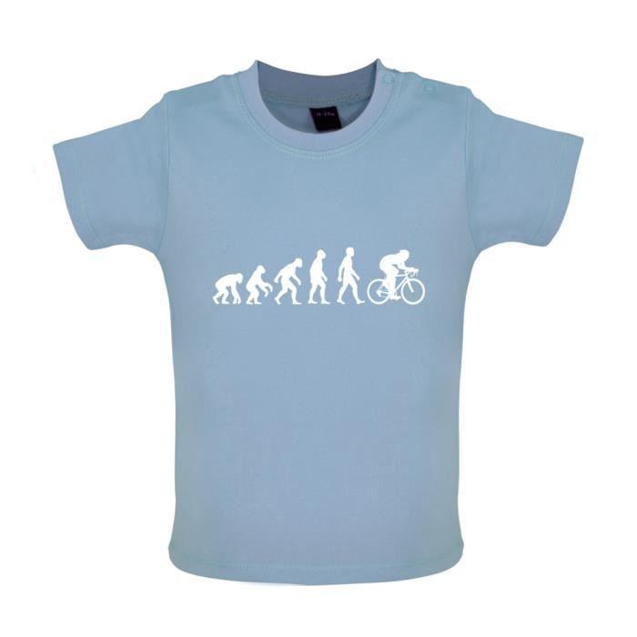 Evolution de l'homme Vélo - T-shirt bébé