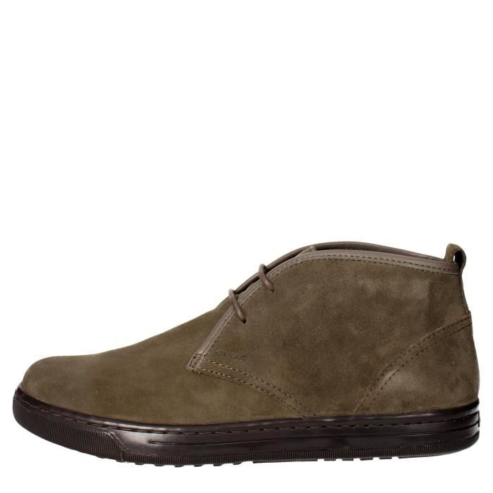 Geox Chaussures À Lacets Homme Marron Taupe, 44 Marron taupe - Achat ... c4981f7fb9a4