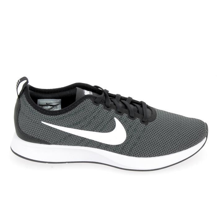 Nike Dualtone Racer Noir Blanc 918227002 Noir - Chaussures Basket Homme