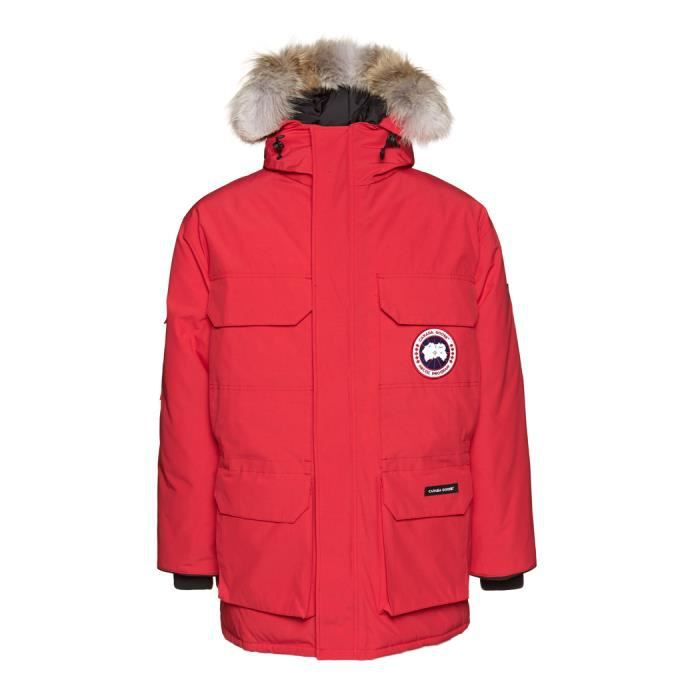 Canada Goose Expedition Parka Down Jacket Rouge Rouge - Achat ... 603e4db4bf8e