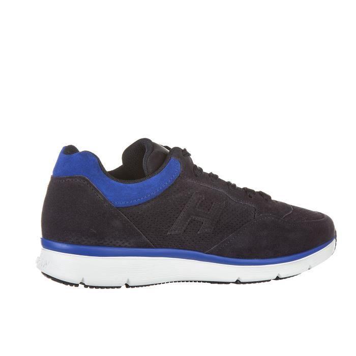 Chaussures baskets sneakers homme en daim h3d forato Hogan