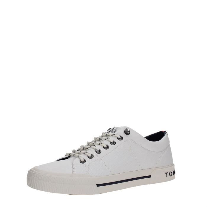 Tommy Hilfiger Sneakers Homme WHITE