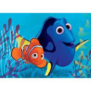 LE MONDE DE DORY Tapis Enfant Nemo et Dory Bulles - 95x133 cm