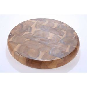 PLANCHE A DÉCOUPER Planche à découper ronde 26 cm en bois naturel d'a