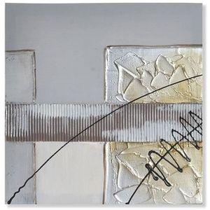 TABLEAU - TOILE Cadre toile tableau peinture Abstrait - design mod