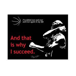 STICKERS Quote Basketball Michael Jordan Winning Alonline D