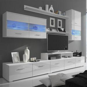 etagere murale pour tv achat vente etagere murale pour tv pas cher soldes d s le 10. Black Bedroom Furniture Sets. Home Design Ideas