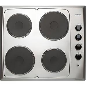 PLAQUE ÉLECTRIQUE  Table de cuisson électrique 4 foyers Inox