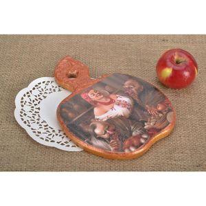 PLANCHE A DÉCOUPER Planche à découper en bois décorative faite main.