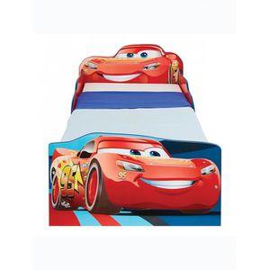 LIT COMPLET Disney Cars Lightning McQueen lit bébé avec rangem