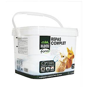 EXTRUDÉ - EN GRANULÉ Repas complet pour Jeune Lapin, 7 kg. - HAMIFORM