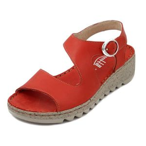ecd4e377414c Sandales nu pieds cuir femmes - Achat   Vente pas cher