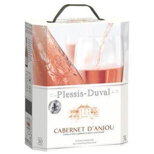 VIN ROSÉ DOMAINE PLESSIS-DUVAL Cabernet d'Anjou Vin de la L